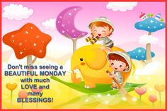 Days Of Week Kids Wallpaper God Prayer Monday Blessings Raising