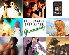 Billionaire Ever After #ebooks #paperbacks & #kindle #giveaway. Get 20 #free #romance #ebooks just for entering!