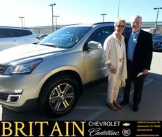 https://flic.kr/p/DVX2sK | Congratulations Robert & Ethel on your #Chevrolet #Traverse from Mike Donahoe at Britain Chevrolet Cadillac! | deliverymaxx.com/DealerReviews.aspx?DealerCode=I827