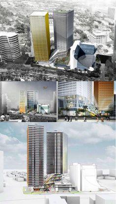 Surya Semesta Internusa plans to extend their former tower Graha Surya Internusa with 2 grade A office towers at Rasuna Said CBD, South Jakarta. Construction start on January 2014. (Source: Skyscrapercity Jakarta forum & Google)