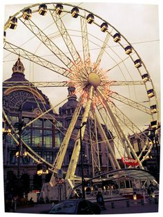 10 Things to Do in Antwerp, Belgium: Diamond Wheel Antwerp - Europe à la carte