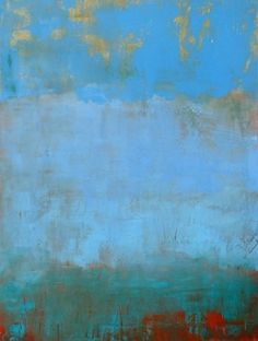 Azzuro II by Galerie du Soleil Oil ~ 40 x 30 Abstract Images, Abstract Landscape, Abstract Art, Abstract Paintings, Art Paintings, Z Arts, Soul Art, Collage, Color Studies
