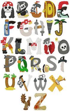 Alfabeto Piratas