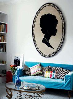 Модный дизайн интерьеров от Лулу Гиннесс. Продолжение 2
