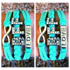 Matching Best Friend Bracelets BFF by ShopAllTheRage on Etsy, $30.00