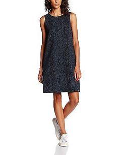 12, Blue - Blau (lush blue 6039), Opus Women's Wamika Dress NEW