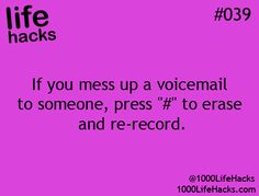 No more wrong voicemails!