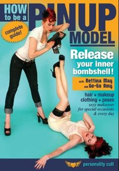 Pin up modeling- Going to read this before I come see you again, Kim Brown!