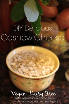 Easy, 2 minute DIY Cashew Cheese.  Plant based, vegan, healthy, kid approved.  #VeganRecipes #DiaryFree #HealthyRecipes