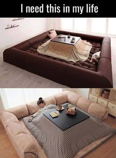 Best invention EVER: Table Bed
