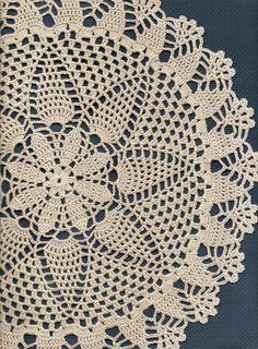 Christmas gift Crochet doily lace doily table by DoilyWorld