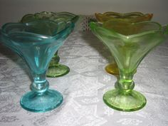 Hey, I found this really awesome Etsy listing at https://www.etsy.com/listing/105875316/vintage-dessert-dishes-blue-green-ice