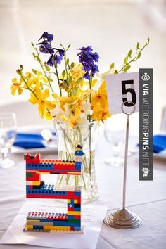 Sweet! - New Wedding Themes 2016 Legos wedding theme | CHECK OUT THESE OTHER GREAT IDEAS FOR NEW New Wedding Themes 2016 OVER AT WEDDINGPINS.NET | #weddingthemes2016 #weddingthemes #themes #2016 #boda #weddings #weddinginvitations #vows #tradition #nontraditional #events #forweddings #iloveweddings #romance #beauty #planners #fashion #weddingphotos #weddingpictures