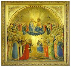 The Coronation of the Virgin by Fra Angelico.