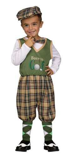 Buy costumes online like the Golfer Toddler Costume from Australia's leading costume shop. Sports Costumes, Buy Costumes, Costume Shop, Toddler Costumes