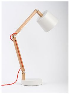 wood table lamp - Google Search
