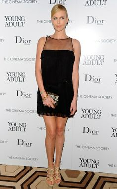 Vogue: Ten Best Dressed — Girl Meets World - Week of November 28, 2011 - 9. WHO: Charlize Theron, WHAT: Christian Dior, WHERE: Cinema Society and Dior Beauty screening of Young Adult, New York, WHEN:November 18, 2011