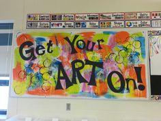 Art Room Bulletin Board