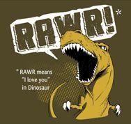 Dinosaurs, so misunderstood.