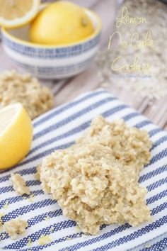 These Lemon No Bake Cookies are a spring twist on a classic treat! Just ten minutes to make and no baking involved!