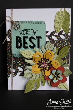 Botanical Blooms Bundle Stampin' Up! 2016 Occasions catalog sneak peek! Mojo Monday challenge MOJO424