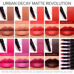 urban decay matte revolution lipstick - Google Search