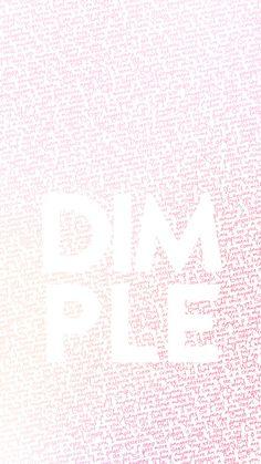 BTS bangtan love yourself her lyrics wallpaper lockscreen kpop dimple