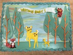 Whimsical Forest Baby Shower