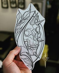 No photo description available. Tattoo Design Drawings, Skull Tattoo Design, Tattoo Sketches, Tattoo Designs, Black Ink Tattoos, Skull Tattoos, Future Tattoos, Tattoos For Guys, Armband Tattoo