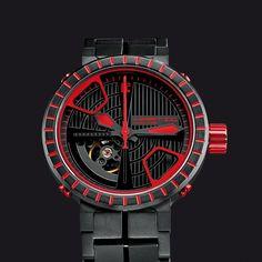 Crossline RED Watches, Red, Wrist Watches, Wristwatches, Clocks