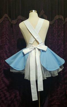 Wonderland Cosplay Retro Pin Up Apron by PandorasProductions