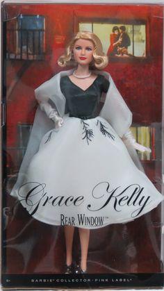 Agtoyland - Barbie Collector Rear Window Grace Kelly Doll, $59.99 (http://www.agtoyland.com/products/barbie-collector-rear-window-grace-kelly-doll.html)