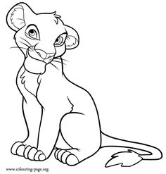 Lion King Lioness Base Lion king mother and cubs base Lineart