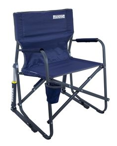 Folding Outdoor Portable Rocker Chair Camping Beach Picnic Fishing Travel Seat #OutdoorSportsGCI