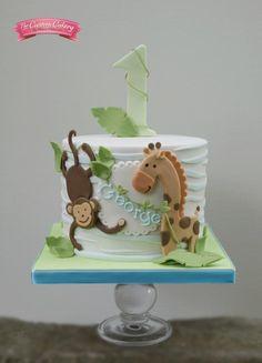 George's Jungle - Cake by The Custom Cakery