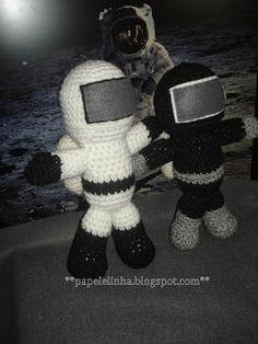 astronauta crochet