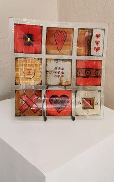 Fused Glass, Calendar, Abstract, Holiday Decor, Home Decor, Summary, Decoration Home, Room Decor, Life Planner
