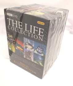 New THE LIFE COLLECTION David Attenborough DVD Box Set - 388 C68