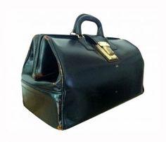My Dad has this bag!  Vintage Doctor's Bag handbags 2013 handbags fall 2013 handbags diy handbags and  purses - black designer handbags, leather purses for sale, ledies hand bag *sponsored https://www.pinterest.com/purses_handbags/ https://www.pinterest.com/explore/handbag/ https://www.pinterest.com/purses_handbags/cheap-purses/ https://francesvalentine.com/shop/handbags