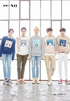 WINNER are animal lovers for the clothing brand 'NII' | allkpop
