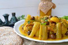 Kurczak z selerem naciowym po marokańsku