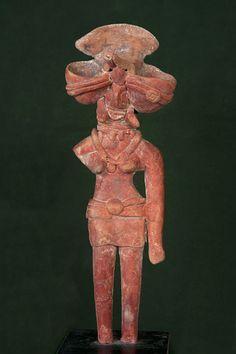 Standing figure of the Mother Goddess C. 2700-2100 B.C. Place of Origin: Mohenjo-Daro