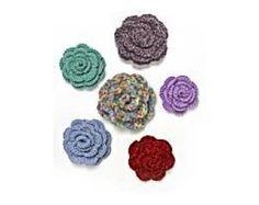 Crocheted Rosettes (Crochet)