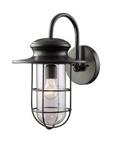 Elk Lighting Outdoor Sconce - Portside 1-Light Outdoor Sconc
