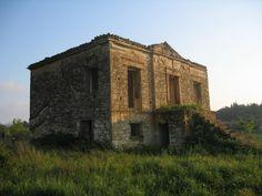 Old building,impressionism Lasteika Ilias, Greece