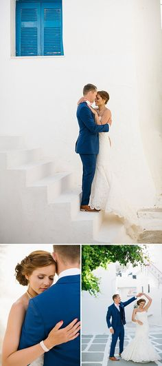 A Greek Destination Wedding On Tzamaria Beach In iOS With A Enzoani Dress And Peach Bridesmaid Dresses With Photography By Anna Roussos. 0007