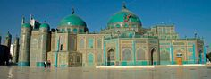 The Blue Mosque of Mazar-i-Shareef. Afghanistan
