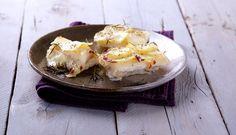 Stoccafisso di Norvegia al forno in crosta di patate aromatiche