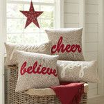 Tidings Jute Pillow Cover Collection