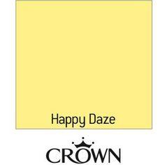 Crown Matt Emulsion Paint Happy Daze 2 5l From Homebase Co Uk